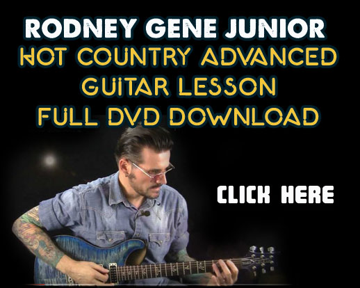 Rodney Gene Hot Country DVD